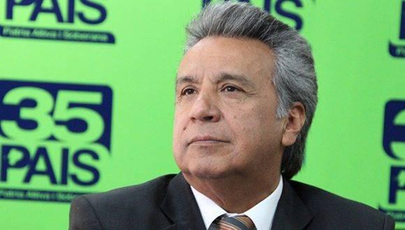 CNE acoge ratificación de Moreno como presidente de AP