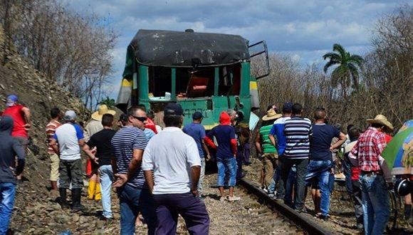 El suceso tuvo lugar en las afueras de la capital provincial. Foto: Carlos Luis Sotolongo/ Escambray.