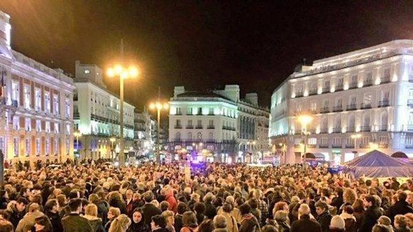 Manifestación en la región de Murcia. Foto: @ArgEspania