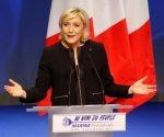 La candidata ultraderechista a la presidencia de Francia, Marine Le Pen. Foto: AP.
