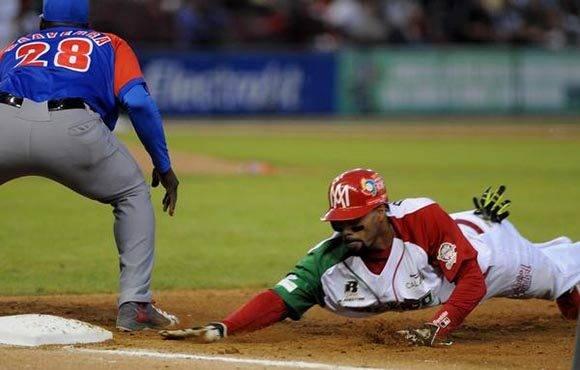 Los Águilas de Mexicali, ganan la semifinal contra los Alazanes de Cuba, 1 x 0, en la LIX Serie del Caribe de Béisbol, en el estadio Tomateros de Culiacán, México, el 6 de febrero de 2017. ACN FOTO/Ricardo LÓPEZ HEVIA/sdl