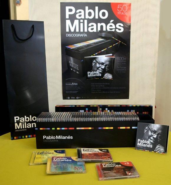 La Colección de Pablo Milanés. Foto: Marianela Dufflar/ Cubadebate.