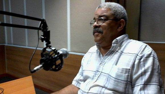 Pedro de la Hoz. Foto: Radio Rebelde.