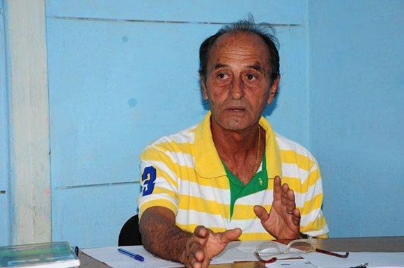 Ezequiel Gil Pérez confía en que se acaben las salidas ilegales. Foto: Vicente Brito/ Escambray