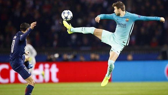Uno de los peores partidos del Barça en esta temporada. Foto: AP.