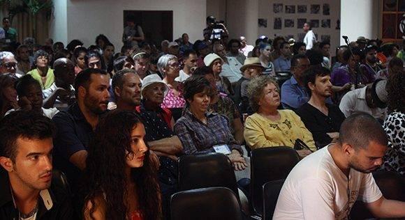 La entrega del Premio tuvo lugar en la Sala Nicolás Guillén de la Fortaleza San Carlos de la Cabaña. Foto. José Raúl Concepción/ Cubadebate.
