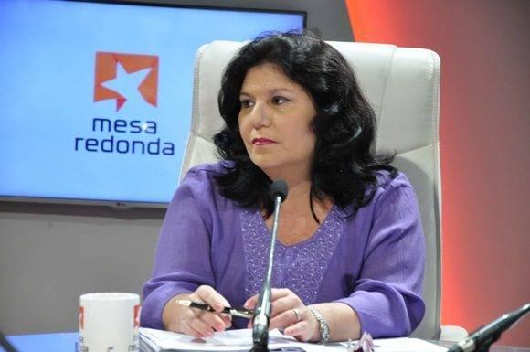 Lourdes Rodríguez Ruiz, Directora General de Atención Institucional quien precisó sobre los gastos en el presupuesto del estado para el año 2017.