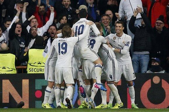 El Madrid logra un buen resultado, pero la eliminatoria ante el Napoli no esta decidida. Foto: Susana Vera/ Reuters.