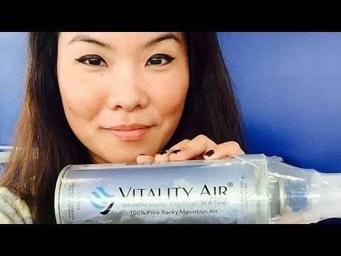 Aire envasado, uno de los productos a los que se puede acceder en China. Foto tomada de YouTube.