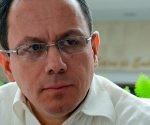 Alexander Yáñez, Secretario Ejecutivo de Petrocaribe, ofrece declaraciones a la prensa en el Hotel Habana Libre, en La Habana, Cuba, el 8 de marzo de 2017. Foto: ACN/ Abel Padrón.