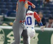 IV clasico mundial tokyo japon segundor juego de cuba vs China Roel Santos. Foto: Ricardo López Hevia/ Pool / Cubadebate