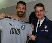 Buffon llegó a su partido 1000. Foto: Getty Images.