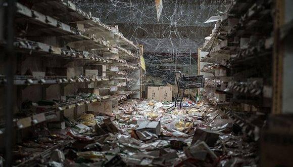La Central de Fukushima después del desastre. Foto tomada de Taringa.