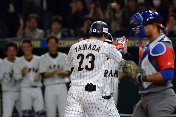 Cub vs Japon Cambios en el equipo cuba Jonron de Yamada