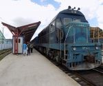 Tren en la terminal de Camagüey. Foto: Héctor González.