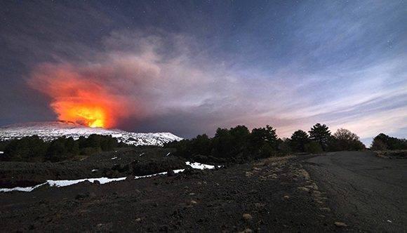 El Etna es el volcán más grande y activo de Europa. Foto: Antonio Parrinello / Reuters.