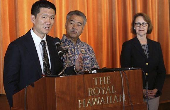 El fiscal general de Hawái, Douglas Chin, interpuso una demanda contra el veto de Trump. Foto: AP.