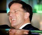 El primer ministro holandés, Mark Rutte, obtuvo el miércoles una rotunda victoria. Foto: EFE.