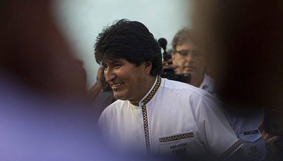 Evo Morales Ayma, presidente del Estado Plurinacional de Bolivia. Foto: Ladyrene Pérez/ Cubadebate.