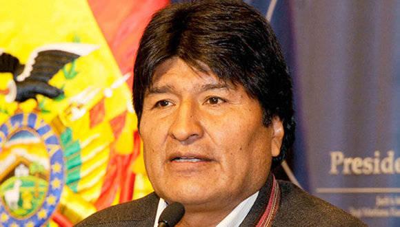 Evo Morales. Foto tomada de La Razón.