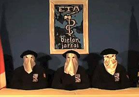 Miembros del grupo ETA. Foto tomada de emol.com.