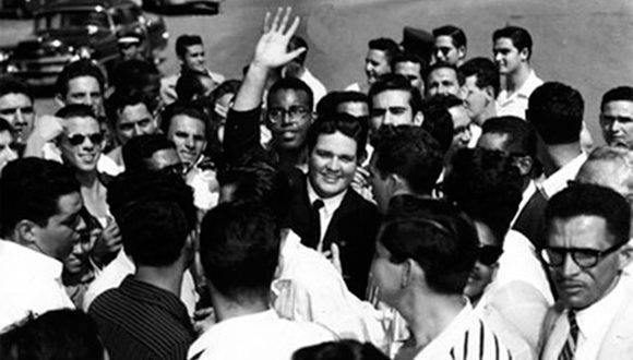 José Antonio Echeverría. Foto: Archivo.