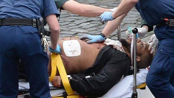 Masood/ Rusell murió tras el atentado. Foto: Reuters.