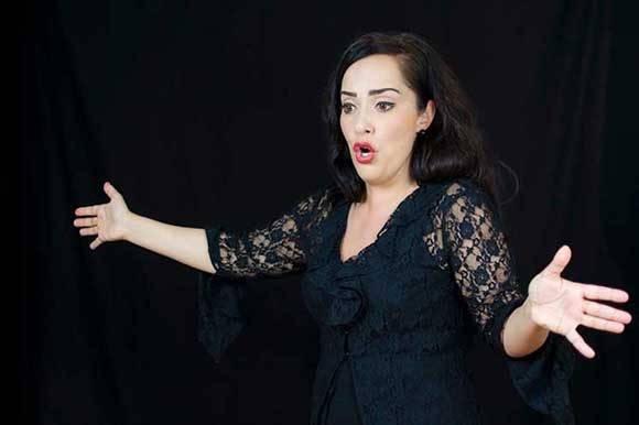 La soprano española Laura Alonso Padín se presenta en Cuba.