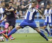 Suárez anotó el del empate momentáneo. Foto tomada de Marca.