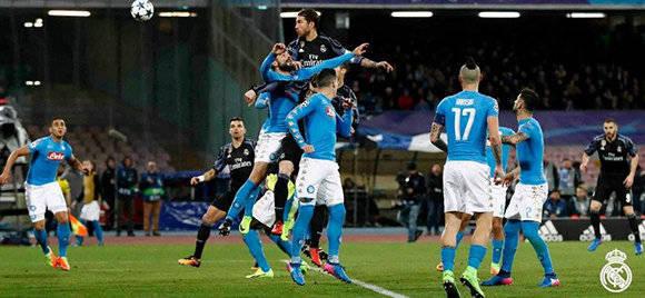 Primer gol de Sergio Ramos. Foto: @RealMadrid/ Twitter.