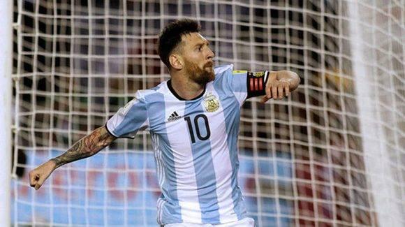 Messi marcó después de un penal cuestionado. Foto tomada de Marca.