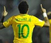 Neymar puso el tercero en el marcador con una vaselina. Foto tomada de Marca.
