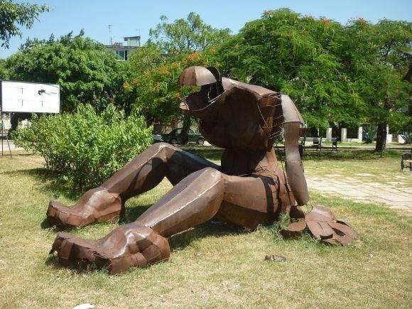 Parque Wilfredo Lam, El Vedado, La Habana, Foto: Víctor Manuel Ramos Fernández / Cubadebate