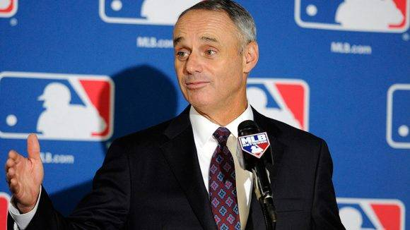 Rob Manfred. Foto: MLB.