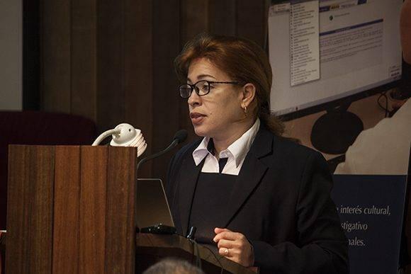 Tania Velázquez Rodríguez, Directora Central de la Dirección Central de Comercial y Mercadotecnia de ETECSA.