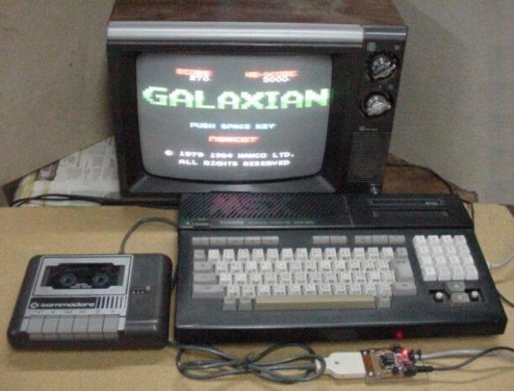 Teclado MSX-BASIC. Imagen tomada de Space Invader
