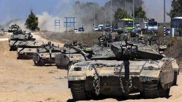 Tropas israelíes. Foto tomada de ABC.