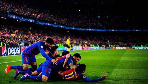 El FC Barcelona logró una remontada histórica en la Champions. Foto: Vladimir Rys/ Getty.