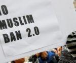 Protesta en Washington contra el nuevo veto migratorio de Trump. Foto: Reuters.