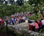 """Acto por el 139 Aniversario de la Protesta de Baraguá, calificada por José Martí """"lo más glorioso de la historia de Cuba"""", realizado en el mismo lugar donde ocurrieran los hechos, en el Consejo Popular Baraguá del municipio Mella, en la provincia de Santiago de Cuba, el 15 de marzo de 2017. Foto: ACN/  Miguel Rubiera."""
