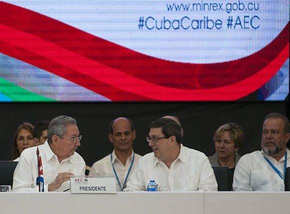 Alerta Cuba sobre riesgos del proteccionismo comercial y políticas migratorias para el Caribe