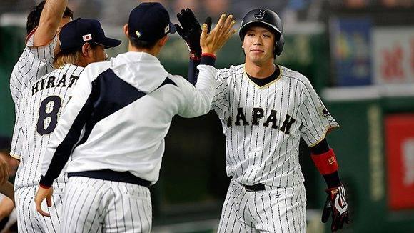 Japón empató el juego en la quinta entrada. Foto: @WBCBaseball/ Twitter.