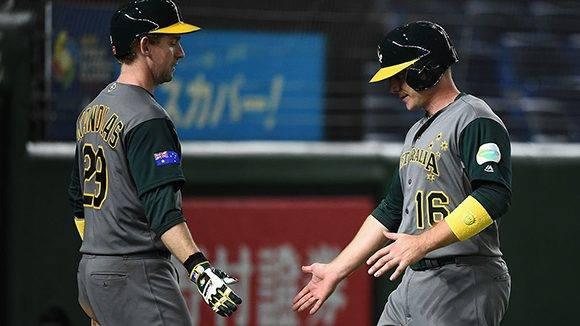 Australia tiene balance de una victoria y una derrota y enfrentará a Cuba en partido definitorio. Foto: @WBCBaseball / Twitter.