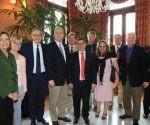 Recibe Canciller cubano a delegación de miembros de la Cámara de Representantes del Congreso de los Estados Unidos. Foto tomada de CubaMinrex.