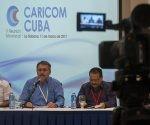 """""""El Caribe ante cualquier desastre natural, siempre ha podido contar con la ayuda médica cubana, que comenzó con el apoyo que le dimos en la década de 1970 a Jamaica"""", agregó Marimón. Foto: Ladyrene Pérez/ Cubadebate."""