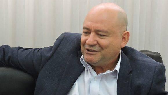 Comandante de las FARC-EP, Carlos Lozada. Foto: Prensa Latina.