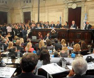 Macri abrió las sesiones ordinarias del Congreso. Foto: DyN.