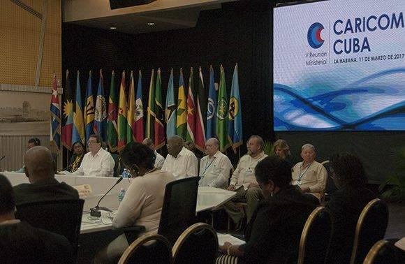 La cita de la Comunidad del Caribe en La Habana se desarrolla en el año que la Isla conmemora el aniversario 45 del Día CARICOM–Cuba. Foto: Ladyrene Pérez/ Cubadebate.