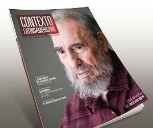 Cubierta del número impreso de la revista Contexto Latinoamericano. Foto: Cortesía de la revista.
