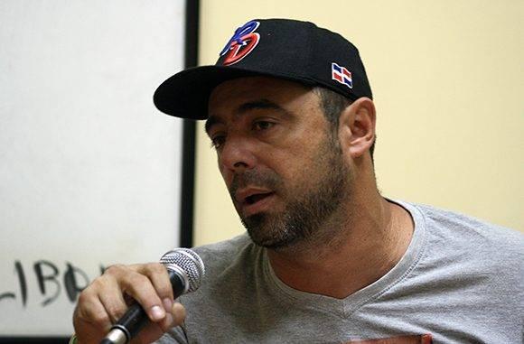 Michel Contreras, periodista de Cubadebtae especializado en temas deportivo, opina sobre el Clásico Mundial. Foto: José Raúl Concepción/ Cubadebate.